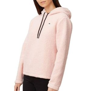 NWT Fila pink sherpa Josephine crop hoodie